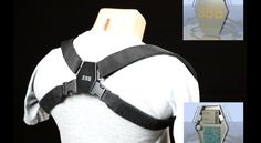 The Smart Back Brace (SBB) is a device meant to improve your posture. It comprises two straps that wrap around your shoulders and a smart electronic unit.