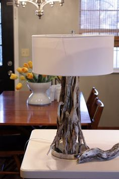 Sweet Something Designs: At Home Thursday: DIY Driftwood Lamp