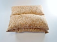 Microwave Rice Heating Pad - Neck Wrap -Natural Therapy- Hot/Cold Pack | blackberrythyme - Bath & Beauty on ArtFire