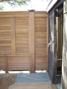 M B Design U0026 Construction Inc  Ipe Privacy Screen Deck
