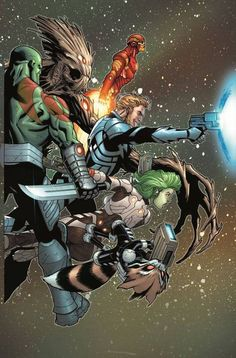 GUARDIANS OF GALAXY #3 By Ed McGuinness