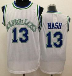 Mavericks  13 Steve Nash White Throwback Stitched NBA Jersey Cheap Nba  Jerseys 9e8e907fb