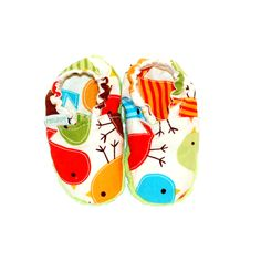 miniTuptusie niemowlęce PTASZKI Newborn Shoes Birds https://fiorino.eu/