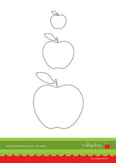 template ~ 3 apple shapes  :)