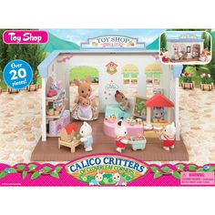 Sylvanian Families Calico Critters Seal Party 100 Sheets Peel off Seal Kids Gift