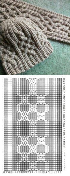 New Crochet Hat Tutorial Ganchillo 66 Ideas Cable Knitting Patterns, Baby Hats Knitting, Knitting Charts, Knitting Stitches, Knitting Yarn, Knitted Hats, Beginner Knitting, Bonnet Crochet, Knit Crochet