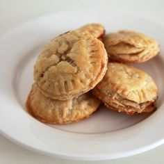 Brie and Fig Appetizer    Not sure about the brie fig combo but this would work well with other flavors too.  Artichoke and cream cheese, mini apple pies.  And its Another use for my pampered chef sandwich press...