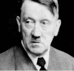 One of the very last photos of Adolf Hitler in his Berlin bunker shortly before his suicide on April 30, 1945.