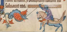 Psalter ('The Luttrell Psalter') with calendar and additional material 1325-1340 Add MS 42130 Folio 83v