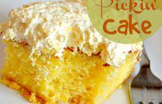 Mandarin Orange Cake (Pig Pickin' Cake) ~ The Frugal Sisters Pumpkin Bundt Cake, Pecan Cake, Mini Cakes, Cupcake Cakes, Cupcakes, Cake Cookies, Poke Cakes, Bundt Cakes, Fancy Cakes