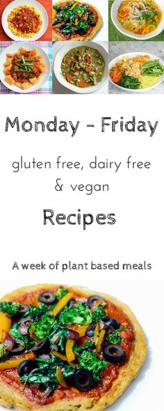 original_title] – Busy Little Izzy Monday-Friday Gluten Free, Diary Free & Meatless Meals Gluten Free, Dairy Free, Plant Based, Vegan Recipes Gluten Free Meal Plan, Gluten Free Soup, Dairy Free Diet, Vegan Meal Plans, Free Meal Plans, Dairy Free Recipes, Vegan Weekly Meal Plan, Vegan Recipes Plant Based, Vegan Lunch Recipes
