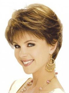 short feathered hairstyles for thick hair - Short Feathered . short feathered hairstyles for t Hair Styles For Women Over 50, Short Hair Cuts For Women, Medium Hair Styles, Short Hair Styles, Feathered Hair Cut, Feathered Hairstyles, Short Wedge Hairstyles, Short Hairstyles For Women, Cut Hairstyles
