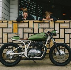 green love via @the_department_of_cafe_racers