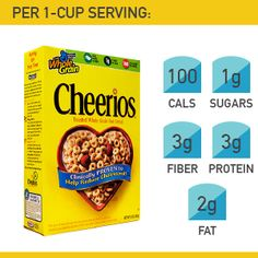 Cheerios and Kix are right up there...add some protein--nuts or yogurt!!!