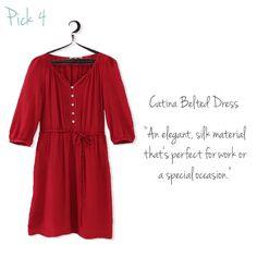 Belted Dress