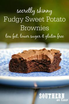 Secretly Skinny Fudgy Sweet Potato Brownies | Super Yummy and Healthy Homemade Recipes by Pioneer Settler at http://pioneersettler.com/sweet-potato-recipes-homesteader/