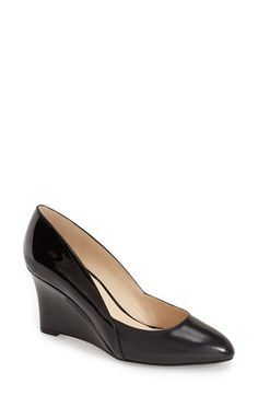 Nine West 'Devinity' Wedge Pump (Women) available at #Nordstrom