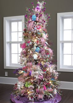 candy christmas tree colorful christmas tree pink christmas christmas candy beautiful christmas trees