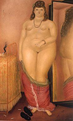 art-mirrors-art:    Fernando Botero - Amparo (2002)