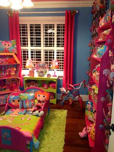 Lalaloopsy bed and Sew Magical House