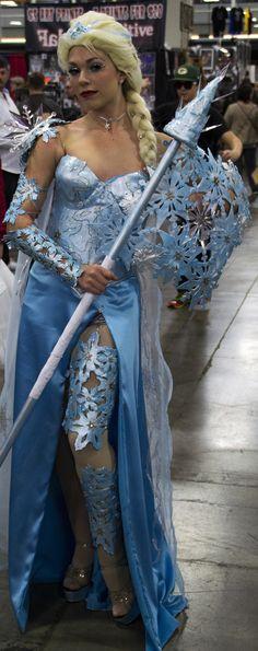 Battle Armor Elsa by Aspen Cosplay Collection at Comic Con Fan X 2015 #disney #frozen