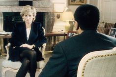 """In 1995, Diana gave a sensational interview to Martin Bashir, in which she spoke of Prince Charles' affair with Camilla Parker-Bowles and the """"rampant bulimia"""" it caused her to develop."""