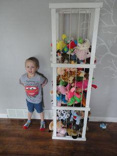 5 ft stuffed animal storage