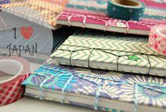 """I love Japan"" por Sonia Alcaraz de La Mar de Washi tapes Sitges, Tapas, Bookbinding, Washi Tape, Scrap, Gift Wrapping, My Love, Gifts, Events"