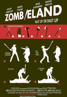 Zombieland infographic illustrating The Double Tap.