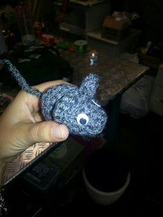 Ratón amigurumi