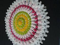 YouTube Crochet Doily Diagram, Crochet Mandala, Crochet Doilies, Eminem, Diy And Crafts, Crochet Earrings, Knitting, Youtube, Instagram