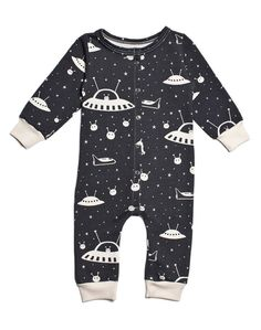 Winter Water Factory Organic Outerspace French Terry Jumpsuit