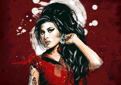 Inspiração: Relembrando Amy Winehouse - Choco la Design | Choco la Design