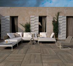 Basket Outdoor sofa by Roda Sofa Design, Interior Design, Outdoor Lounge, Outdoor Sofas, Outdoor Pool, Outdoor Decor, Outdoor Living Rooms, Outdoor Spaces, Summer Decoration