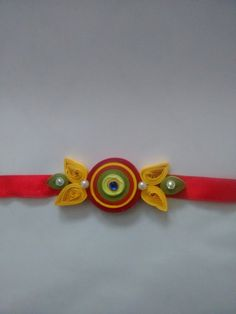 Quilling Jewelry, Paper Jewelry, Paper Beads, Paper Quilling, Easy Crafts For Kids, Diy And Crafts, Arts And Crafts, Paper Crafts, Handmade Rakhi Designs