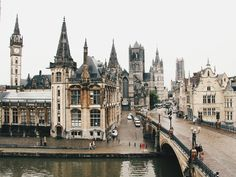 A room with a view. Ghent, Belgium. Location #13 planned out.