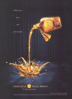 Crown Royal Special Reserve 2001 Ad Picture