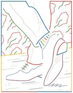 Jordy van den Nieuwendijk / Victimes de la Mode - Drawing for Man Show