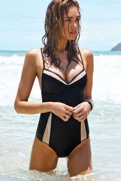 L*Space Swimwear 2015 'Le Diva' One Piece | The Orchid Boutique