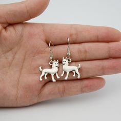 Bohemian Antique Siberian Husky Drop Earrings Brinco Boho Chic Long Earrings For Women Boucle D'oreille From Indian Jewelry Aros