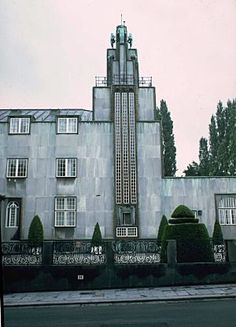Josef Hoffmann. Palace Stoclet, Brussels. 1911