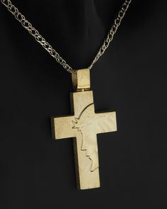 Gold Pendent, Cross Designs, Unique Watches, Pendants, Crosses, Knowledge, Jewellery, Jewels, Quilling