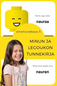 Tunnetaidot - Page 2 of 3 - ViitottuRakkaus. Lego Basic, 8 Year Olds, Legos, Presentation, Therapy, Mindfulness, Teacher, Student, Emoji