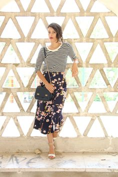I love Fita Métrica: STRIPES & FLOWERS