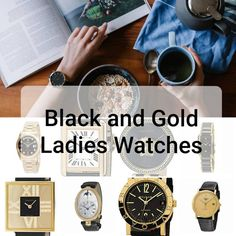 Black and Gold Ladies Watch: 8 Posh Timepieces with a Dark Side - Expensive Watches For Women Expensive Watches, Fashion 2020, Dark Side, Gold Watches, Lady, Womens Fashion, Accessories, Women's Fashion, Woman Fashion