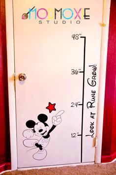Graphic design services by http://modmoxiestudio.blogspot.com/  mickey mouse  kids room