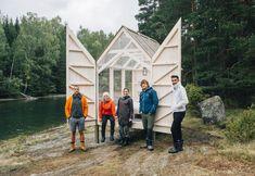 Deze glazen huizen in de Zweedse natuur reduceren stress met 70%- Elle Nederland