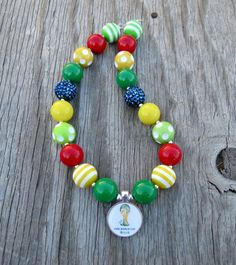 World Cup Copa Mundial necklace!   Hey, I found this really awesome Etsy listing at https://www.etsy.com/listing/190183949/soccer-brasil-world-cup-2014-charm