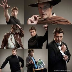 Nathan Fillion! Such a beautiful man.
