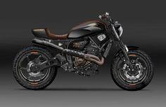 Yamaha XSR700 Street Tracker Design by Kustomeka  #motorcycles #streettracker #motos | caferacerpasion.com